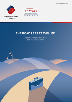 European Chamber report identifies profound lack of European involvement in China's Belt and Road Initiative, and the scheme's dampening effects on global competition